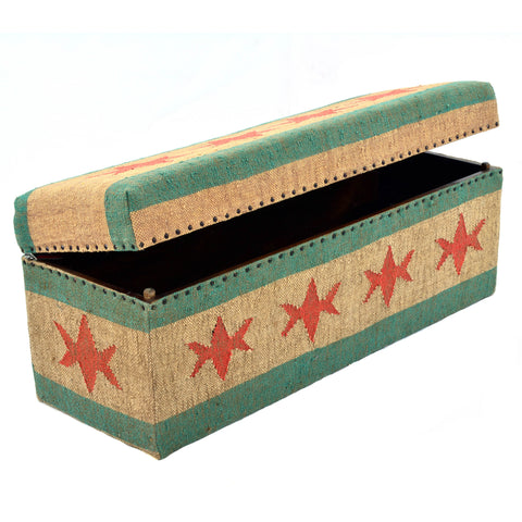 Chicago Flag Trunk