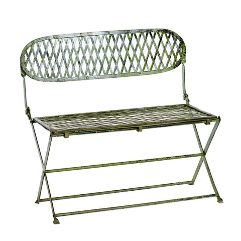 Benca Folding Antique Bench