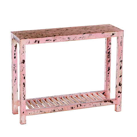 Pink Loha Distressed Console