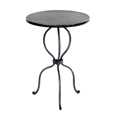 Daura Round Iron Side Table