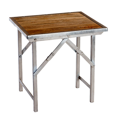 Nikala Folding Side Table