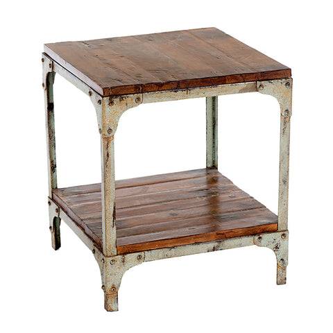 Loha Industrial Side Table