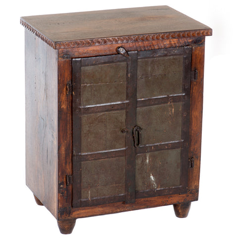 Penca Reclaimed Wood Nightstand