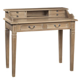 Sema Hand-Carved Piano Desk, Natural