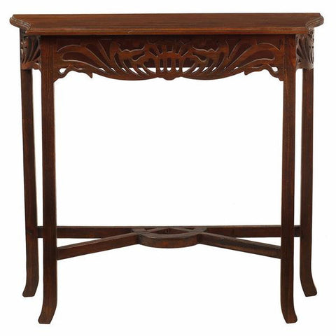 Asmara Table, Light Mahogany