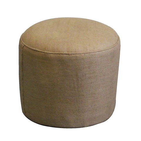 Counting Pouf Ottoman, Natural