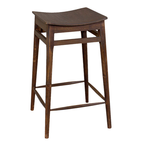 "Mod Counter Stool 24"", Dark Antique"