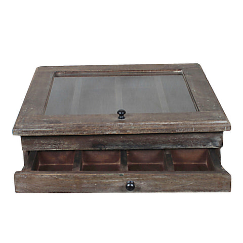 Jewelry Box, Dark Natural