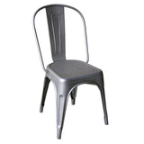 Iron Chair, Galvanized