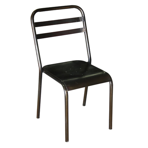 Galinstan Iron Stacking Chair