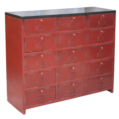 Martius Iron Drawer Chest