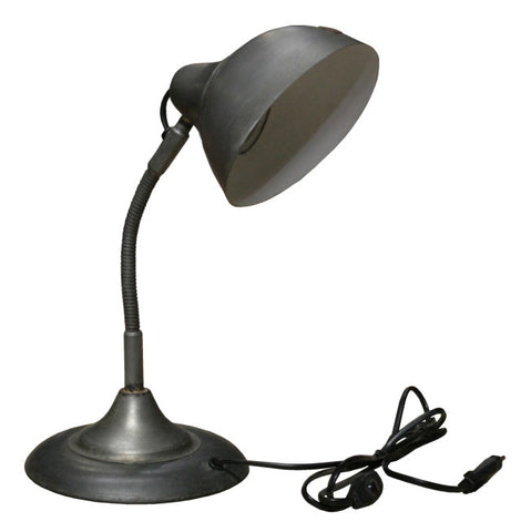 Talley Iron Table Lamp, Metal Base