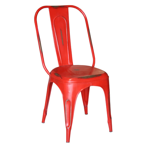 Iron Chair, Laxmi Red