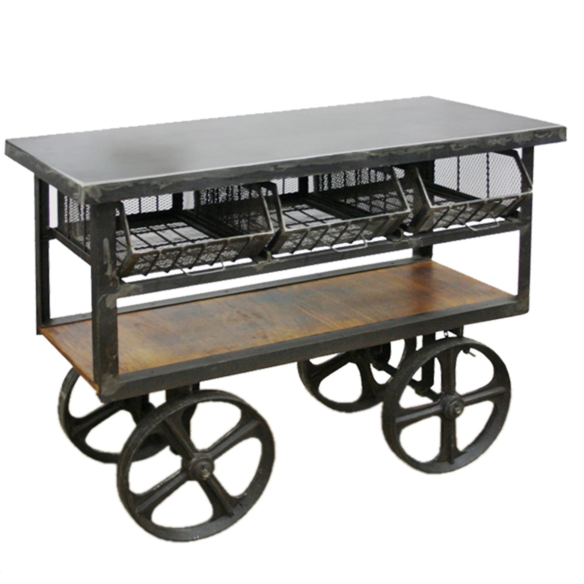 Atgeld trolley industrial trolley industrial cart altgeld iron trolley geotapseo Choice Image