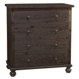 Bali 4 Drawer Chest, Espresso