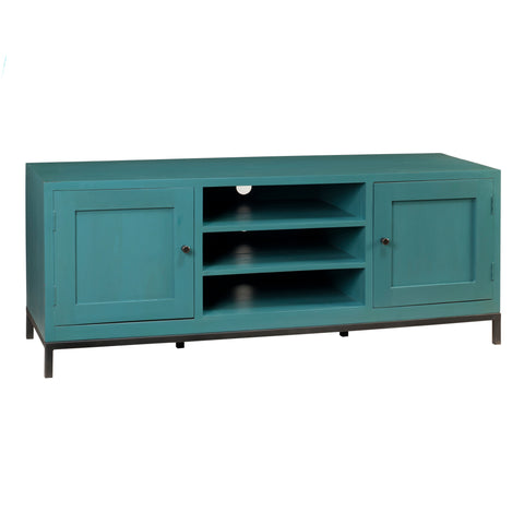 Seattle Media Stand, Teal