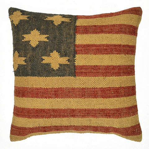 "American Flag Pillow 20"" x 20"""