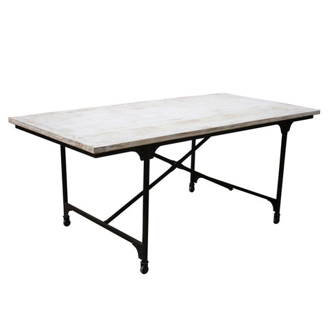 Fuller Iron Wooden Dining Table