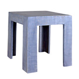 Tiny Wood Stool, Gray Distress