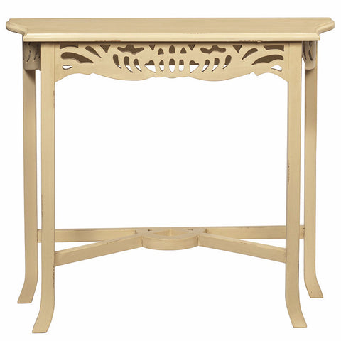 Asmara Table, Butter Yellow