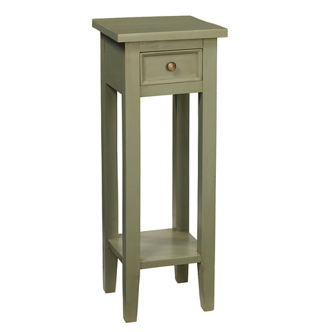 Sumatra Pedestal Table, Green Bay