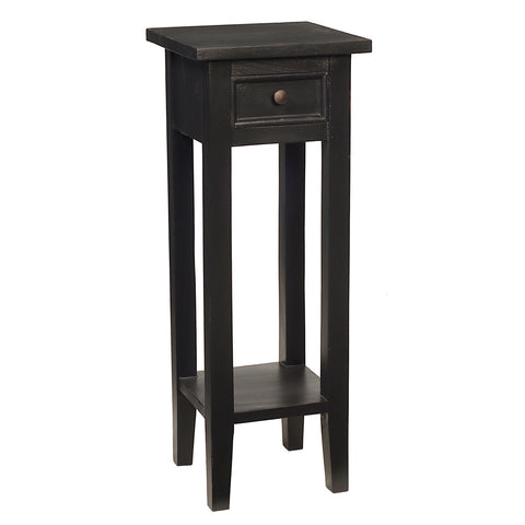 Sumatra Pedestal Table, Black
