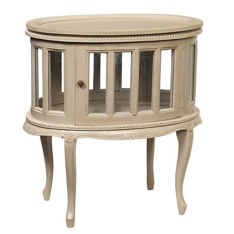 Medan Tea Table, Chateau Gray