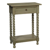 Tidore Side Table, Green Bay