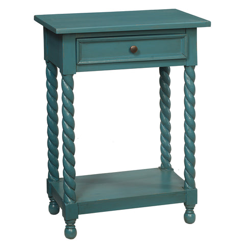Tidore Side Table, Teal
