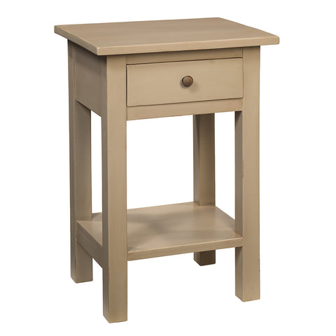 Tarakan End Table, Chateau Gray