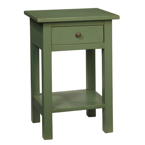 Tarakan End Table, Green Bay