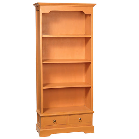 Batavia Bookcase, Dusty Orange