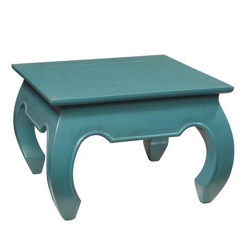 Cire Opium Coffee Table, Teal