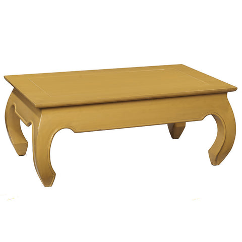 Samar Opium Coffee Table, Sunset Gold