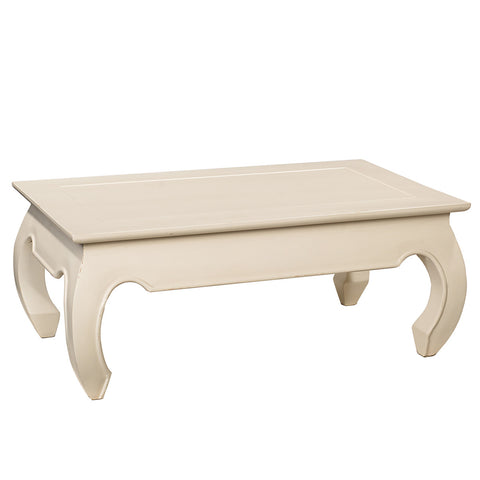 Samar Opium Coffee Table, Snow White