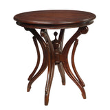 Clove Round Table, Light Mahogany