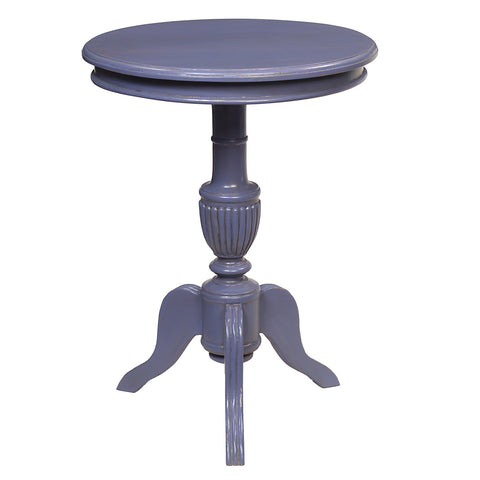 Binjai Round Table, Lavender Violet