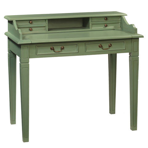 Sema Hand-Carved Piano Desk, Green Bay