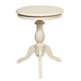 Serang Accent Table, Cloud White
