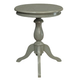 Serang Accent Table, Slate Blue