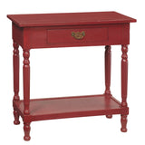 Cianjur Table, Ruby Red