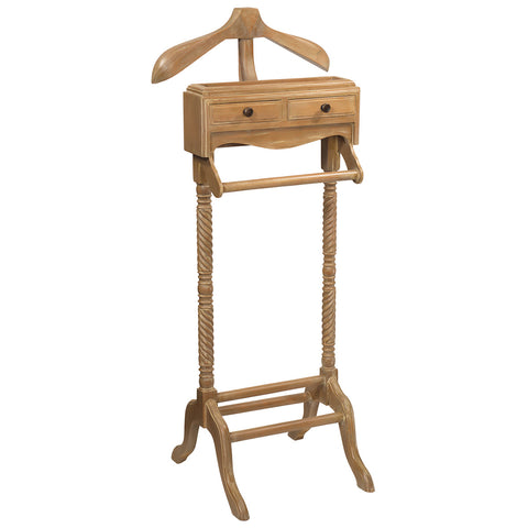 Javall Valet Stand, Natural