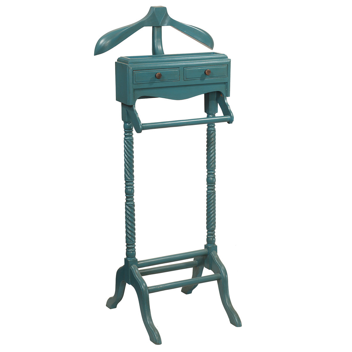Ordinaire Javall Valet Stand, Teal