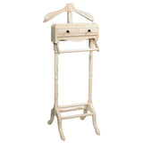 Javall Valet Stand, Cloud White