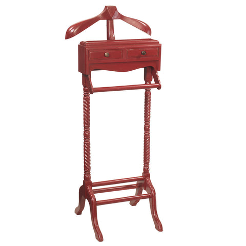 Javall Valet Stand, Ruby Red