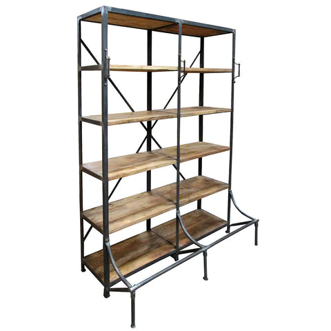 Norm Industrial Shelving Bookcase