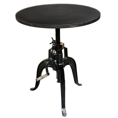 "Rockwell Crank Table 30"" Round"