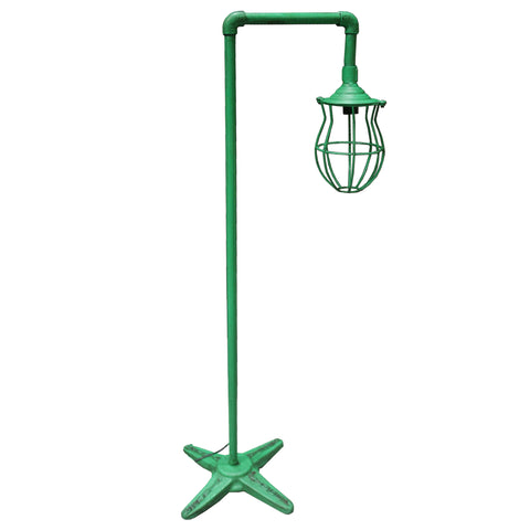 Single Cage Iron Floor Lamp