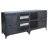 Joseph Industrial Media Stand, Industrial Black