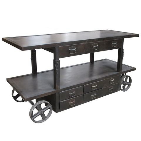 Albert Industrial Adjustable Top Trolley